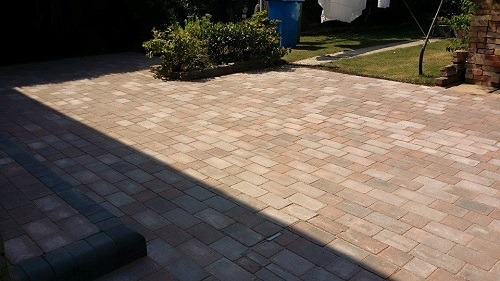 Garden Paving in Dorset