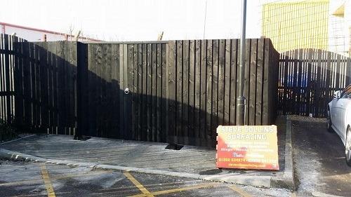 Wood Fence Poole