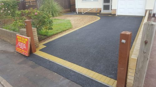 Steve Collins Surfacing Finished drive