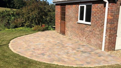 Patio area by Steve Collins Surfacing