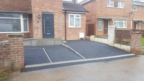 Steve Collins Surfacing Drive and path completed