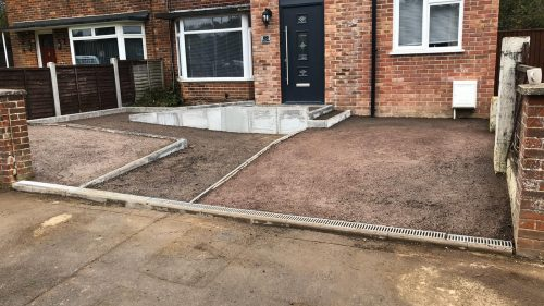 Steve Collins Surfacing Driveway project