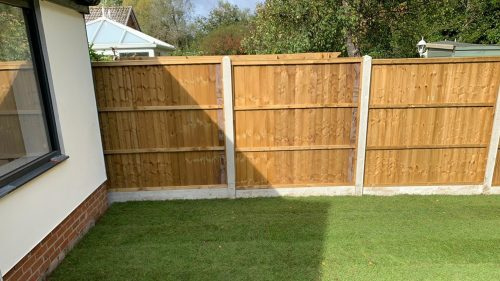 Turfed garden by Steve Collins Surfacing