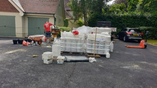 Steve Collins Surfacing driveway materials