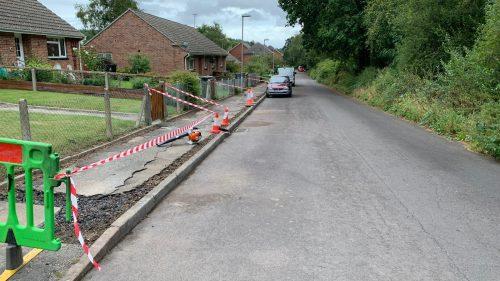 Repairing a pathway - Steve Collins Surfacing