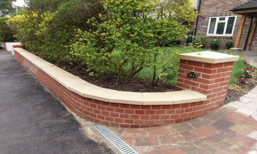 Work carried out by our brickwork specialist in Poole.