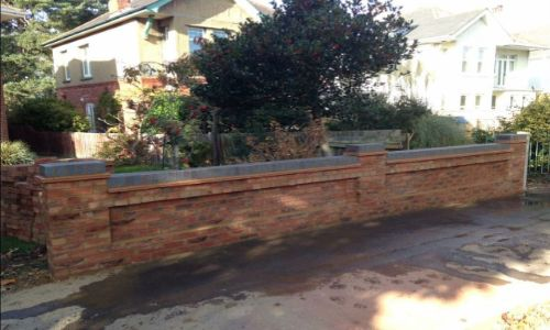 New garden wall by Steve Collins